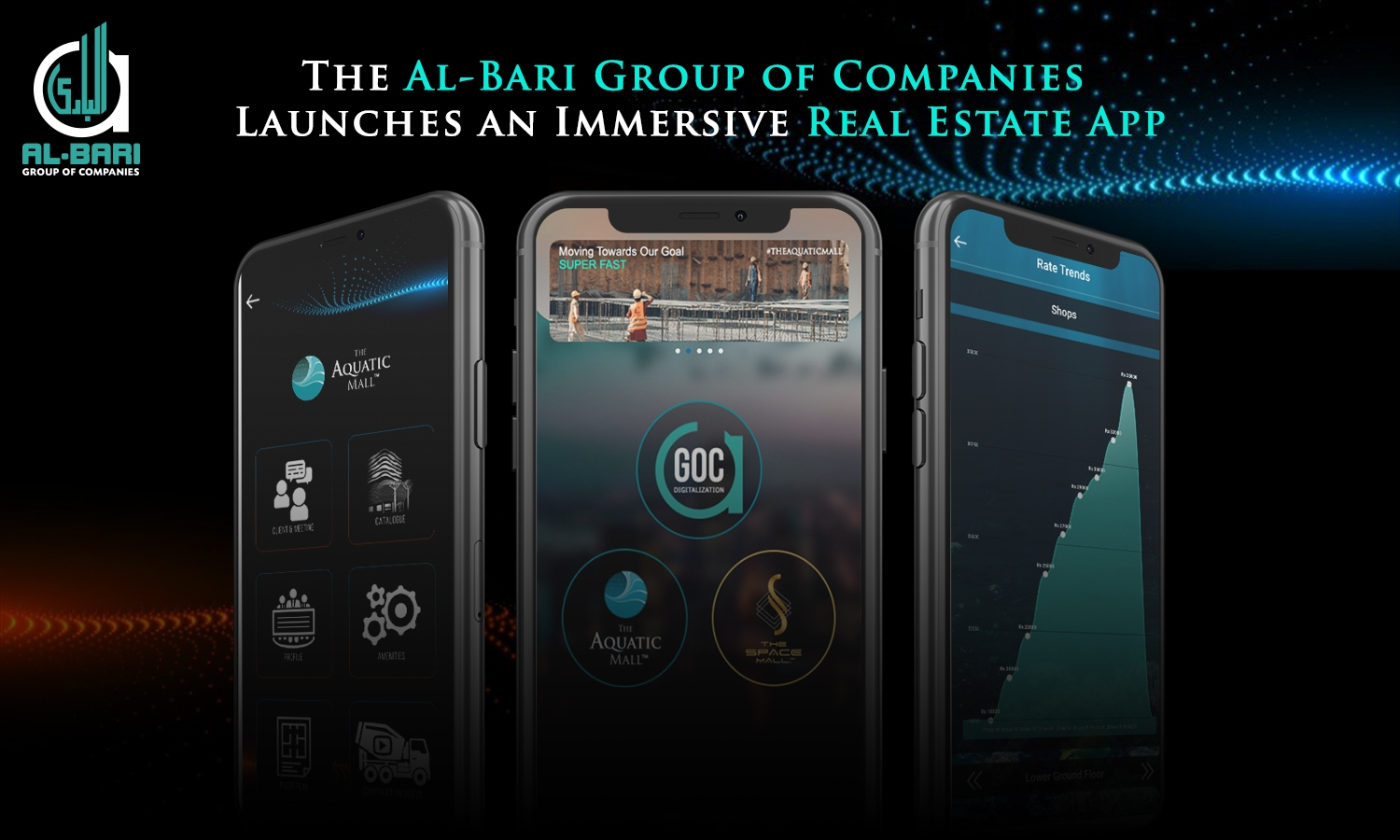 AlBari group of companies real estate app