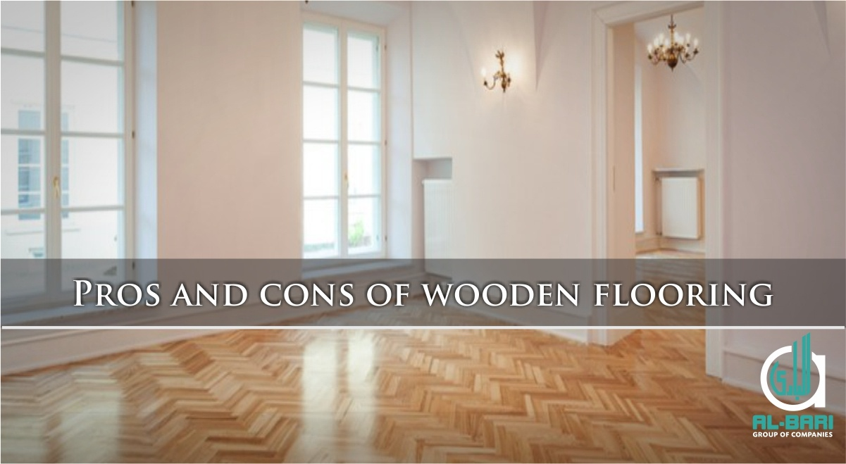 Pros and cons of wooden flooring