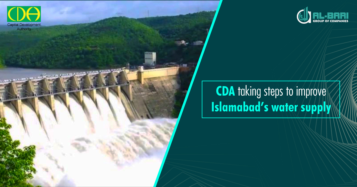 CDA Taking an Initiative to Improve Islamabad's Water Supply