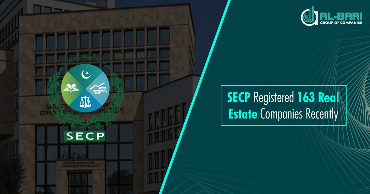 SECP Registered 163 Real Estate Companies