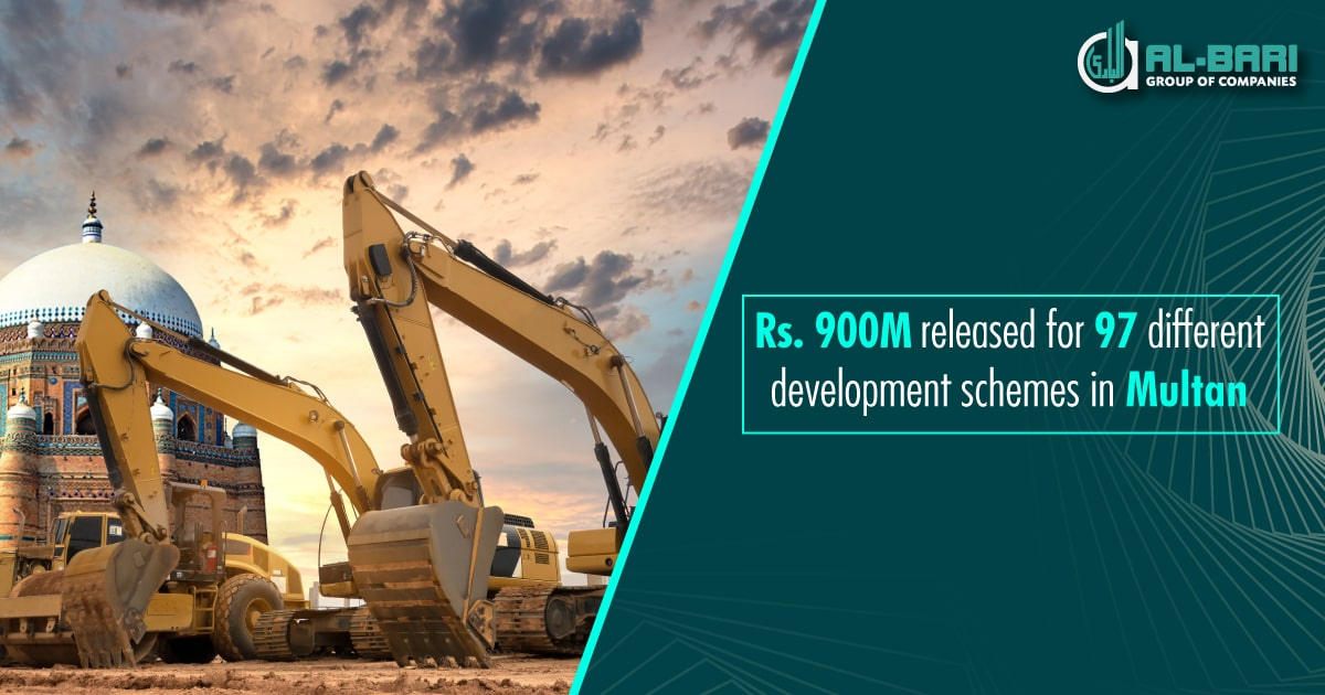 Rs. 900M Released for 97 Different Development Schemes in Multan