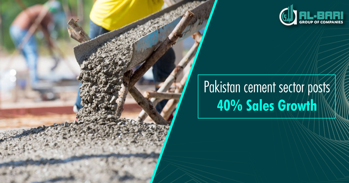 Pakistan Cement Sector Posts 40% Sales Growth